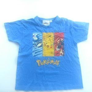 Pokemon boys short sleeve shirt size 7-8